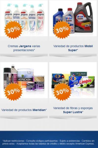 Folleto SuperISSSTE: 30% de descuento en desodorantes Axe, Dove, Rexona, cremas Jergens y más