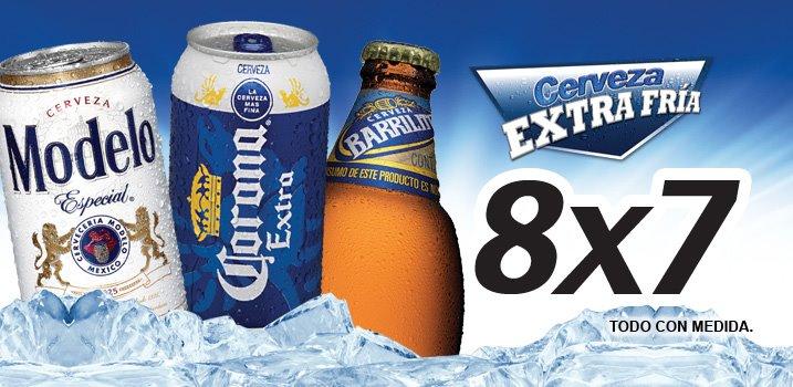Tiendas Extra: 2x1 en sandwich, 8x7 en cerveza, 2 aguas de 1.5 L por $15 y más