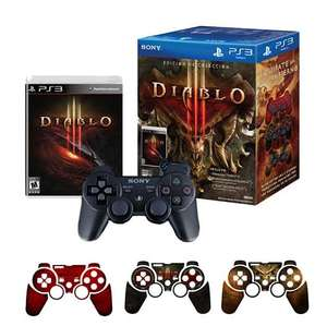 Liverpool: Diablo III o God of War Ascension edición colección con control PS3 $639
