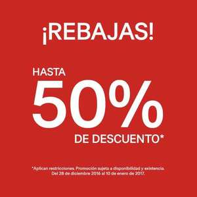 H&M: Rebajas hasta del 50%