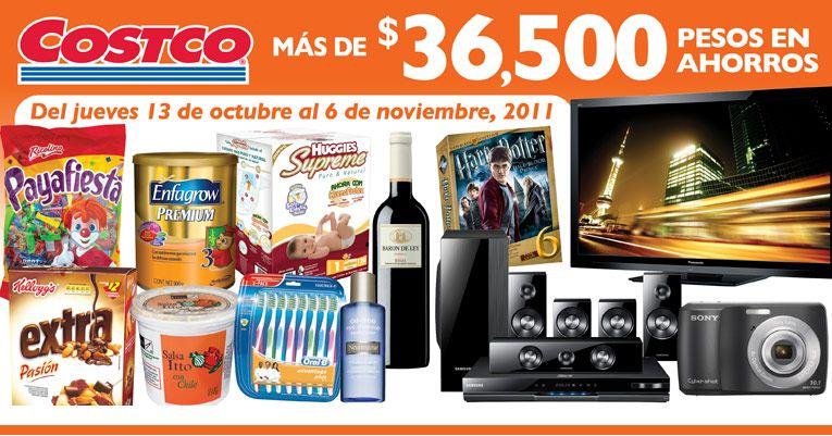Cuponera Costco: $600 menos en Wii, hasta $6,000 en pantalla LED, y descuentos en vino, tequila, dulces, pollo y +