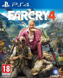 Amazon: Far Cry 4 PS4 Standard Edition