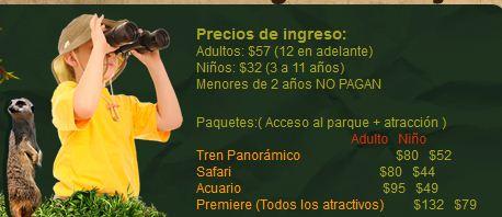 GDL: Entrada gratis a Selva Mágica al comprar boleto para Zoológico Guadalajara y viceversa