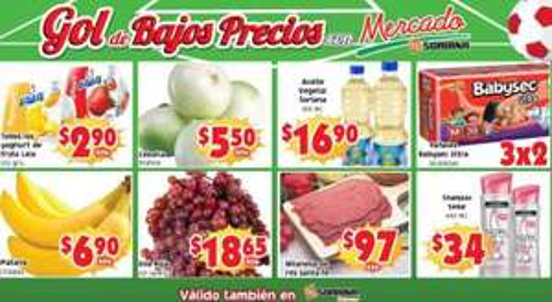 Ofertas de frutas y verduras en Soriana junio 10 y 11
