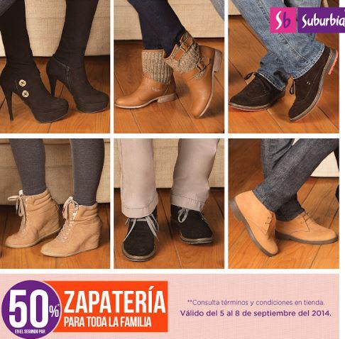 Suburbia: 2x1 y medio en calzado
