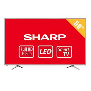 Walmart: TV Sharp 50 Pulgadas 1080p Full HD Smart TV LED LC-50N5000U