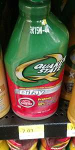 Walmart: aceite Quaker State Difay a $7.03