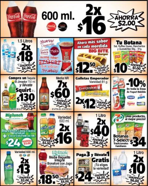 7 Eleven: promociones septiembre y octubre, 2 Tecates gratis al comprar un 12 y más