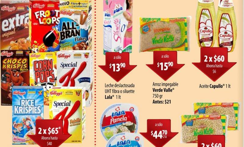 Circular Superama: 2 cereales Kellogg's por $65 y más