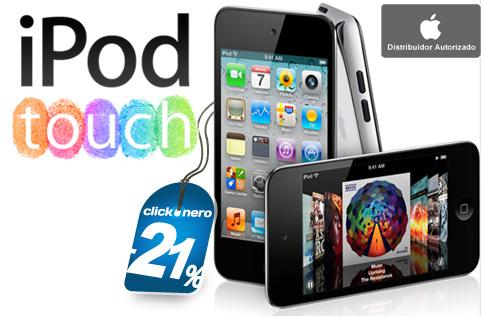 clickOnero: iPod Touch 4ta generación 8GB a $2,999
