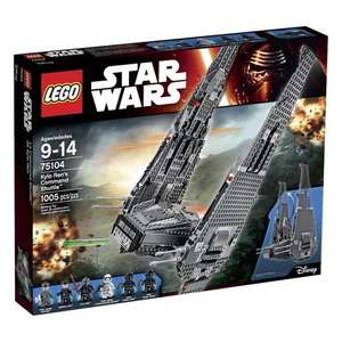 Juguetron: Lego nave Kylo y más
