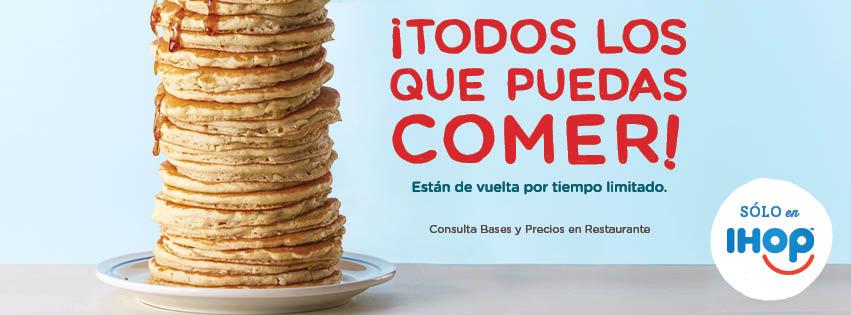 iHop México: Todos los pancakes que puedas comer por $49 pesos