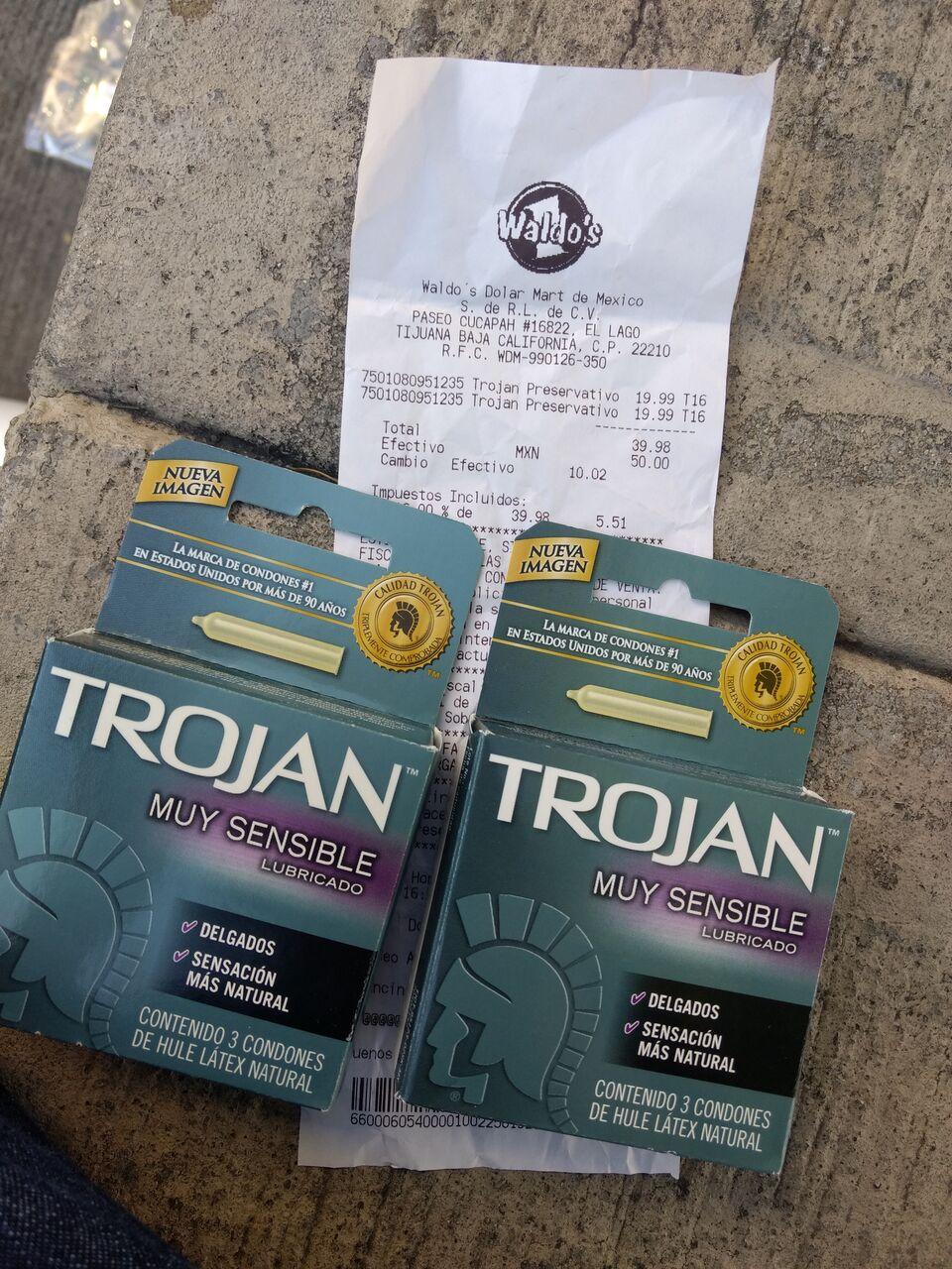 Waldos Mart: Condones Trojan a $19.99