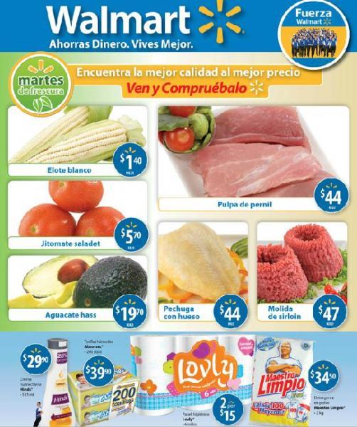 Martes de Frescura en Walmart: Jitomate saladet $5.70 Kg, aguacate Hass $19.70 y más
