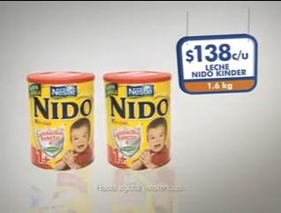 Chedraui: leche Nido Kinder de 1.6 Kg a $138