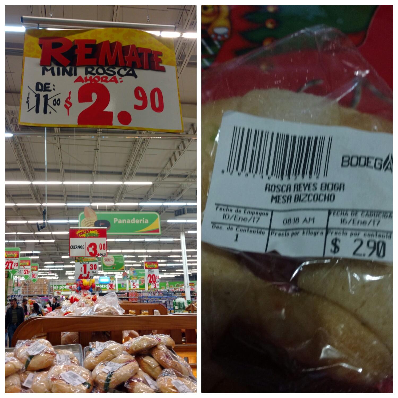 Bodega Aurrerá Tuxtla Ote: Mini rosca $2.90 y más...