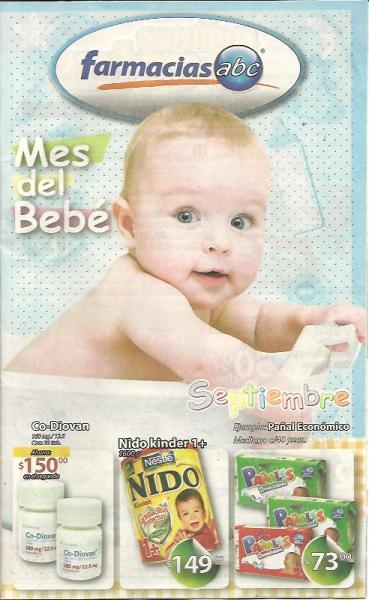 Circular Farmacias ABC: mes del bebé, 3x2 en toallas Always, descuentos en medicinas y más