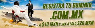 Dominios .MX a $20 y los .COM.MX a $10 con Neubox