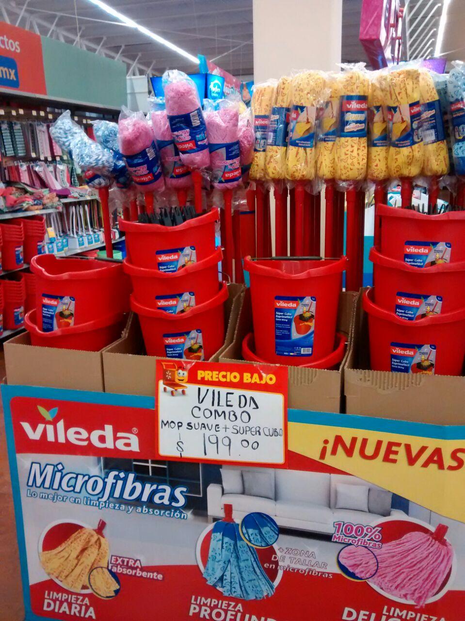 Walmart: Combo Cubo vileda y Trapeador Vileda por $199