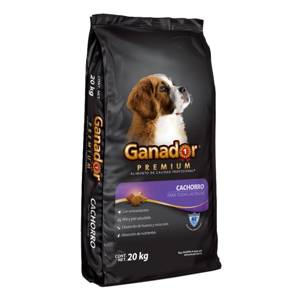 Walmart: Ganador Premium Cachorro 20 kg