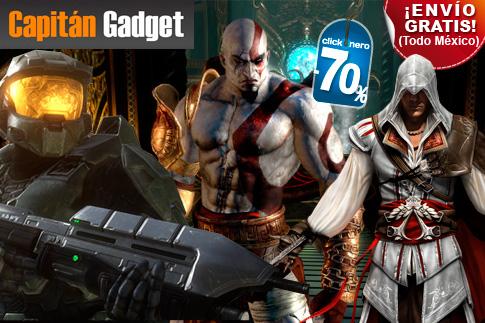 clickOnero: Halo Reach, Call of Duty: Black Ops, Mortal Kombat y más a $359