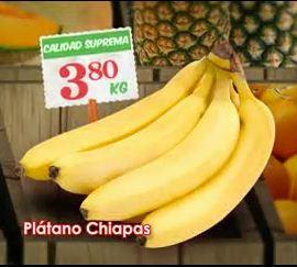 Tianguis de Mamá Lucha Bodega Aurrerá: plátano $3.80, pollo entero $19.70 y más