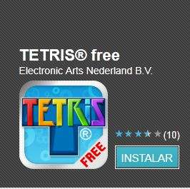 Tetris gratis para dispositivos Android