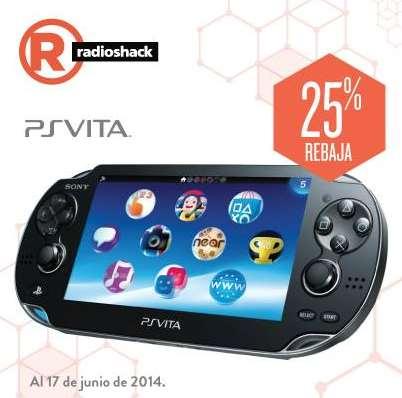 RadioShack: PS Vita $2,999 y hasta 18 meses sin intereses