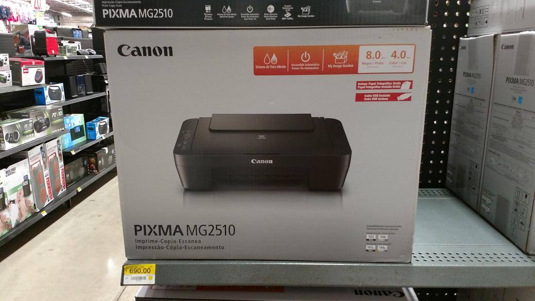 Bodega Aurrerá: Multifuncional Canon MG2510 a $690