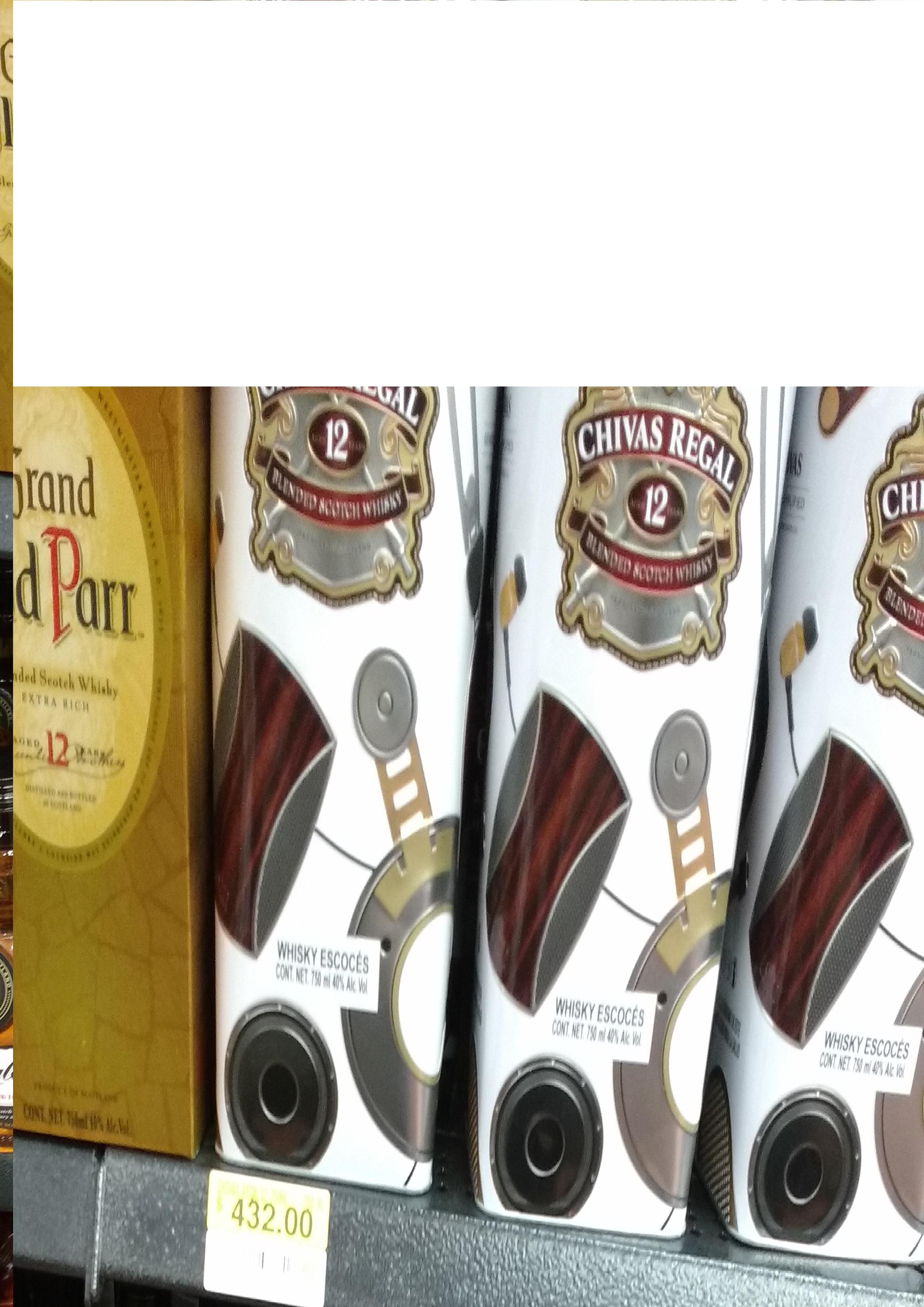 Bodega Aurrerá: Whisky Chivas Regal 12a Edic Lstn 750ml