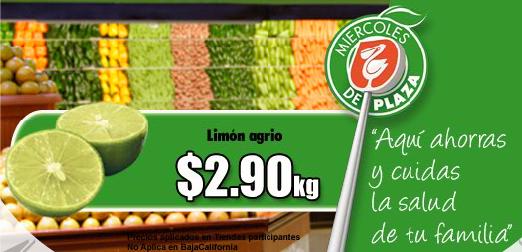 Miércoles de Plaza Comercial Mexicana: limón y chayote a $2.90 y más