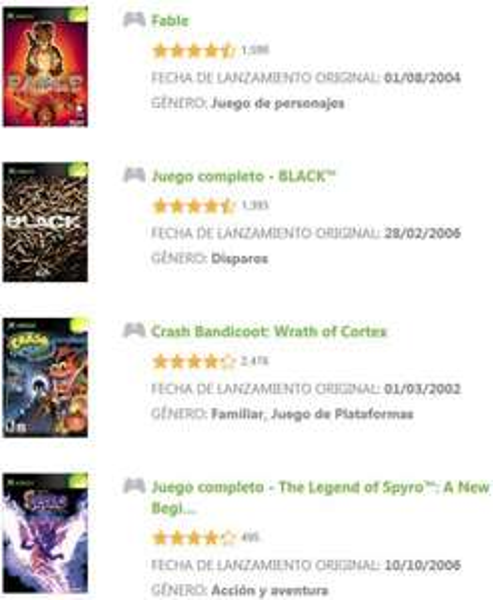Xbox Live: descuentos en juegos de Xbox original (Fable, Black y más)