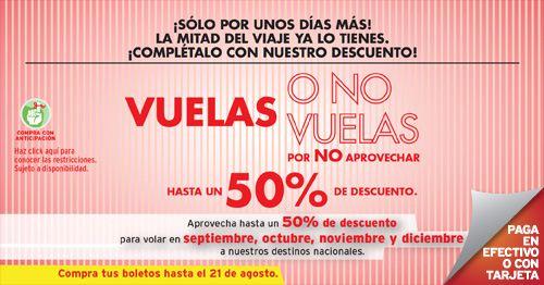 Viva Aerobus: hasta 50% viajando de septiembre a diciembre