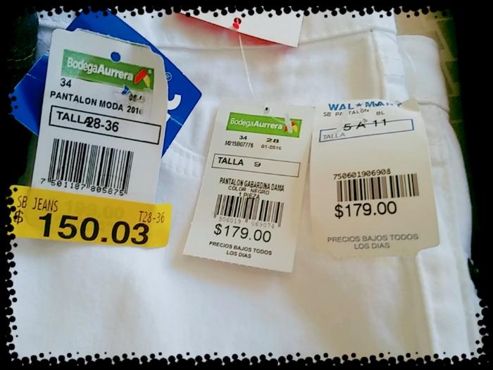 Bodega Aurrerá: Pantalones de dama a $150.03 (más bajo en otras sucursales)