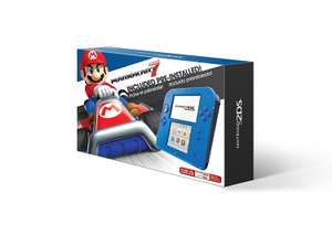 Amazon: Nintendo Consola 2DS HW Electric Blue 2 With Mario Kart 7 - Standard Edition