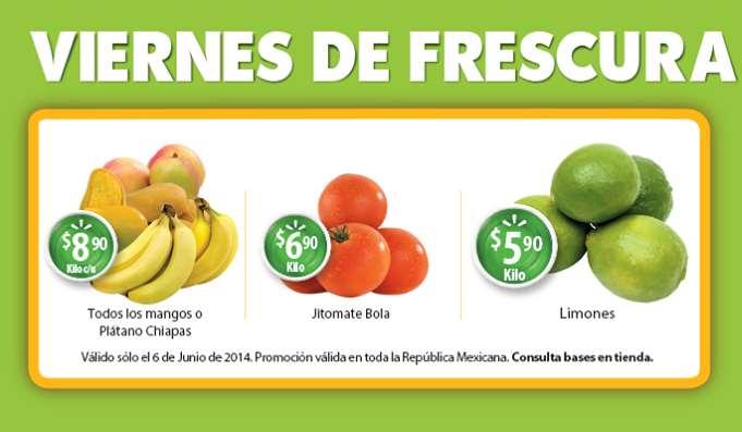 Viernes de frescura en Walmart junio 6: limón $5.90 el kilo y más