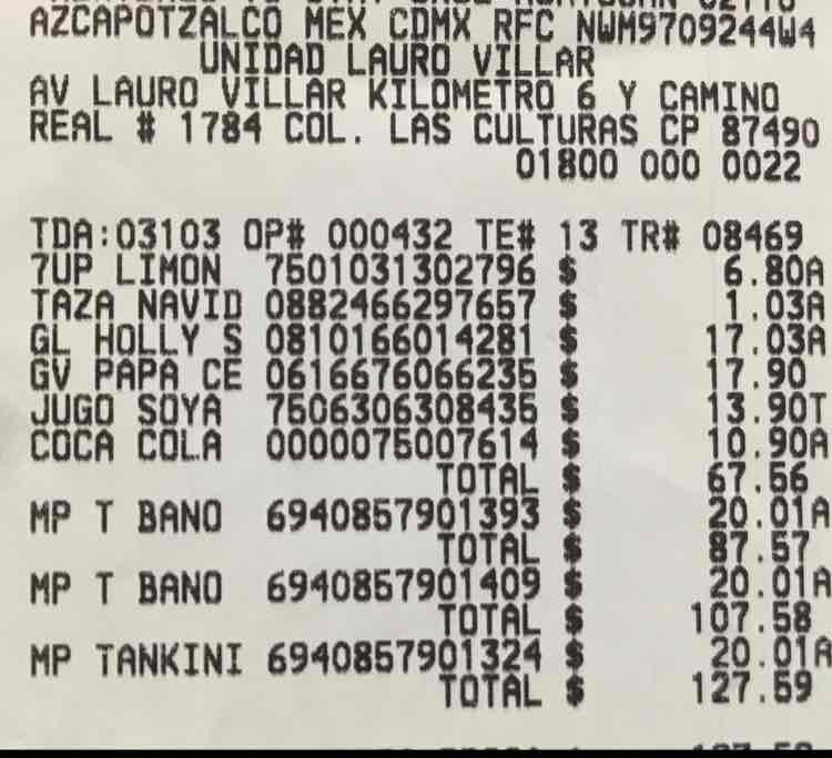 Bodega Aurrerá: Trajes de baño para dama en $20.01