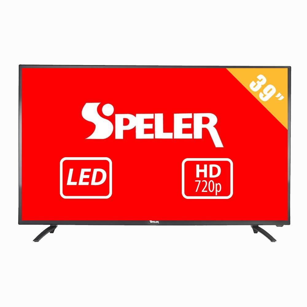 Walmart: TV Speler 39 Pulgadas HD LED SP-LED39