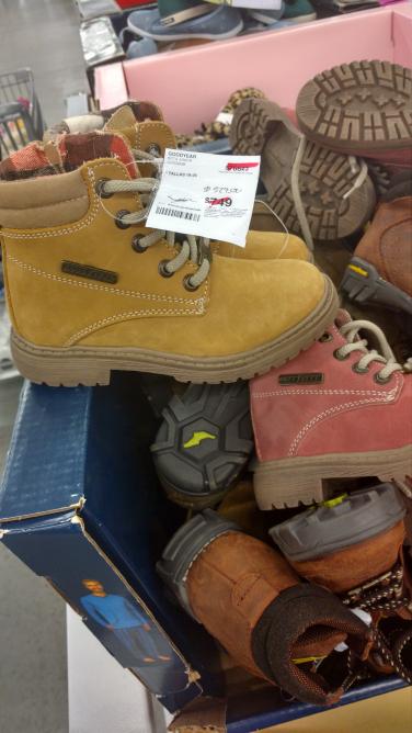 Sam's Club Civac: botas goodyear