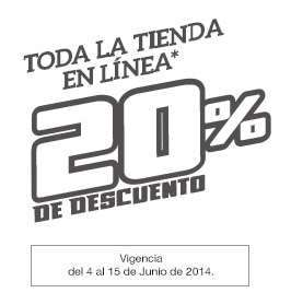 Martí: 20% de descuento + 10% extra en toda la tienda en línea y hasta 30% en tiendas físicas