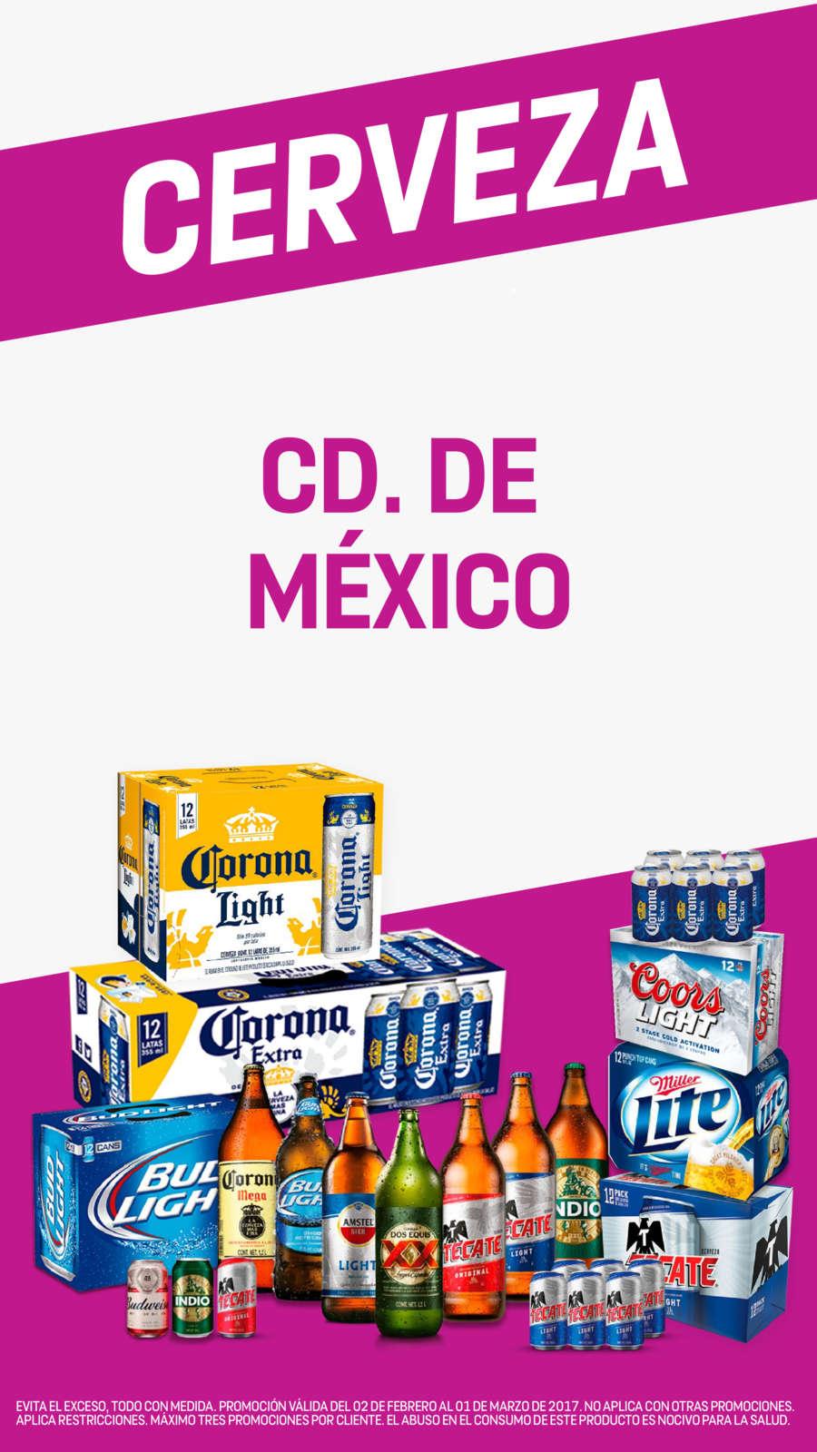 7 Eleven: Cerveza & Vinos del 02 de Febrero al 01 de Marzo 2017 en CDMX