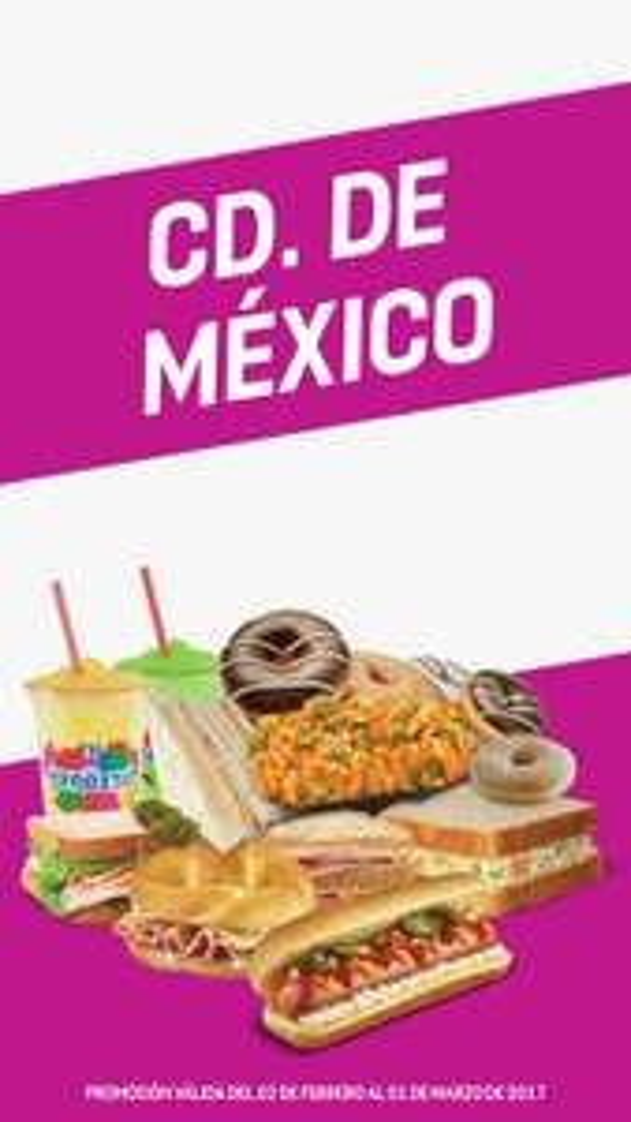 7 Eleven: Para la Sed, Antojo y Hogar del 02 de Febrero al 01 de Marzo 2017 en CDMX