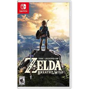 Amazon: The Legend of Zelda Breath of the Wild para Nintendo Switch
