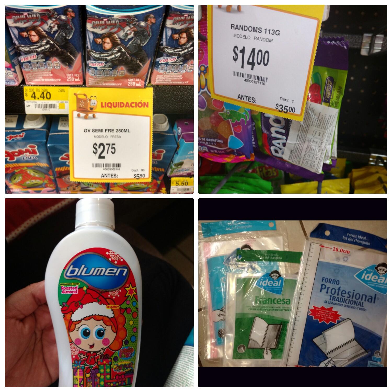 Walmart ote Tuxtla: Leche de sabores 250ml $2.75 y más...