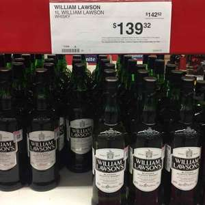 Sam's Club: Whisky William Lawson's de 1 litro $139