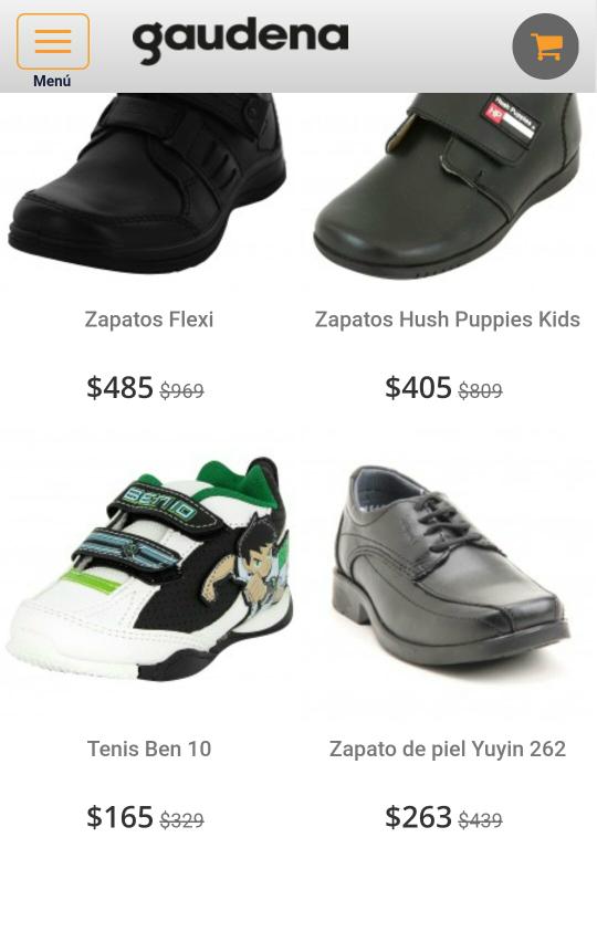 Gaudena: Calzado infantil para niños