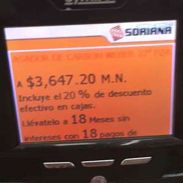 """Soriana Hiper: Asador Weber 22"""" Master Touch"""
