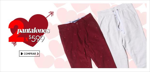 Ösom y Promoda en línea: 2 pantalones por $599 (Calvin Klein, Chaps, Dockers, Levi's, Marsel, Pepe Jeans, Rewin y más!)
