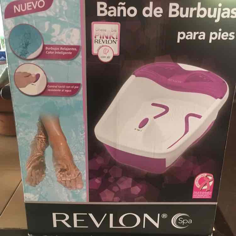 Bodega Aurrerá: baño de burbujas para pies Revlon a $209.01 y más