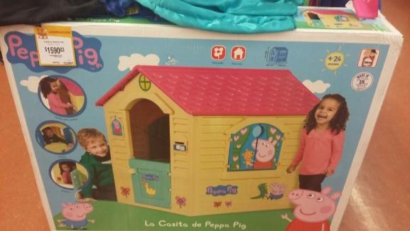 Walmart: La Casita de Peppa Pig a $1,590.03